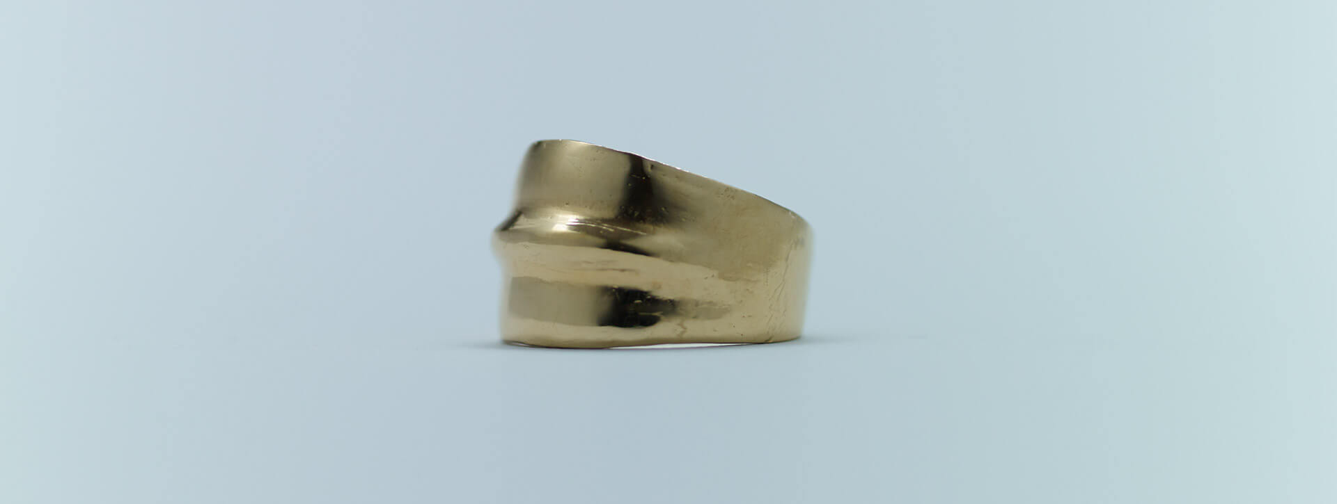 projection ring 18k goldplated