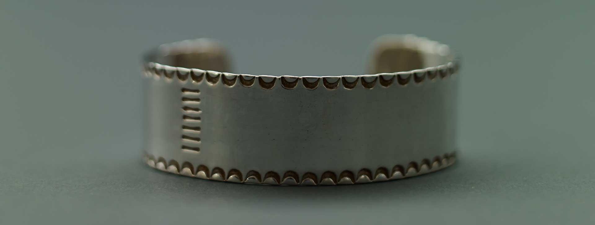 flat wide bangle