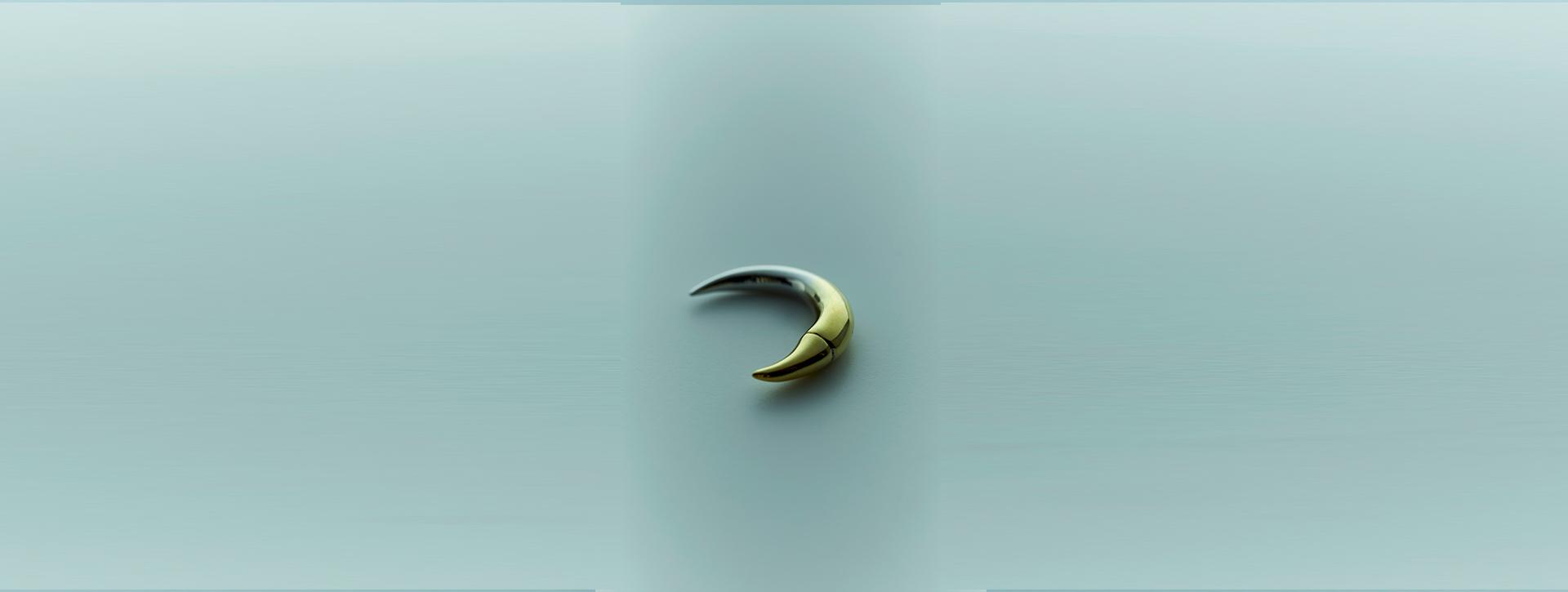 bali horn pierce gradation A