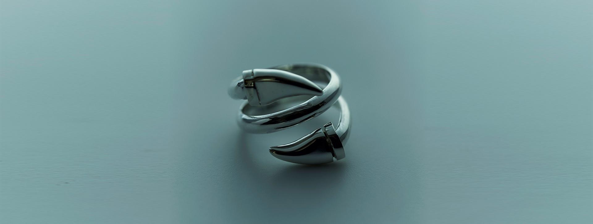 bali horn ring